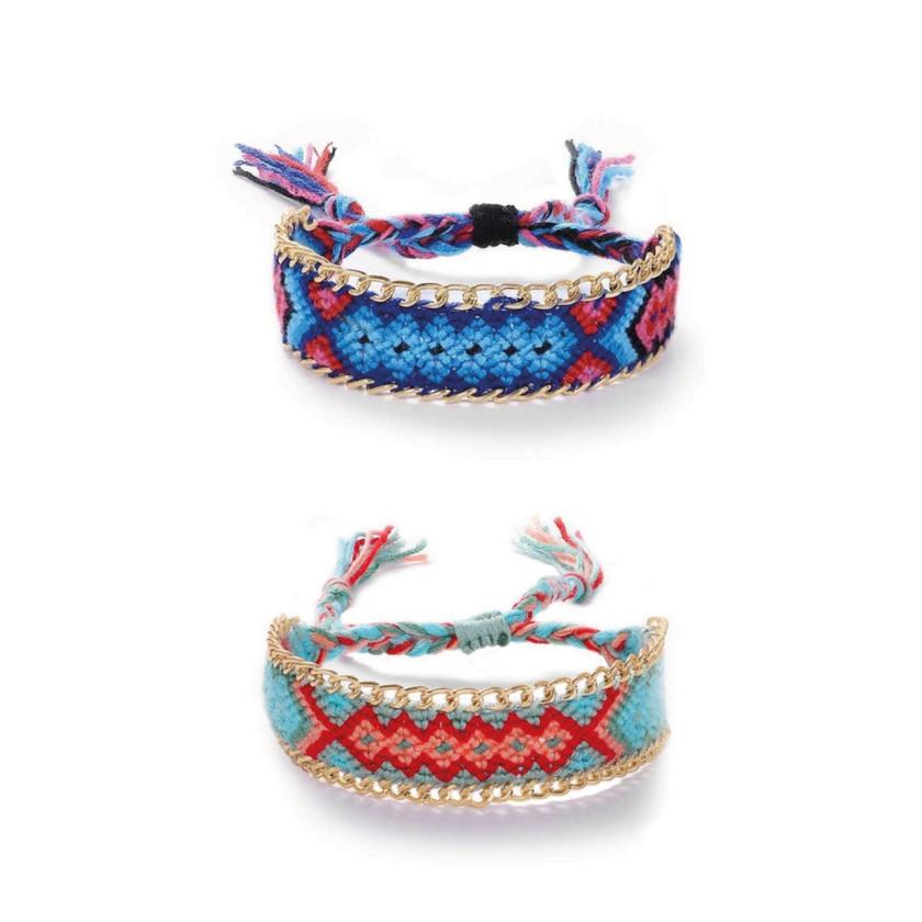 Set di Bracciali Multicolor