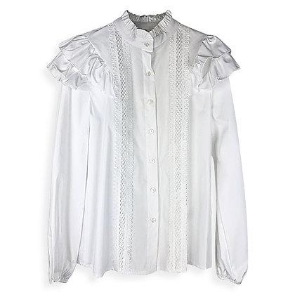 Camicia Bianca con Ricami