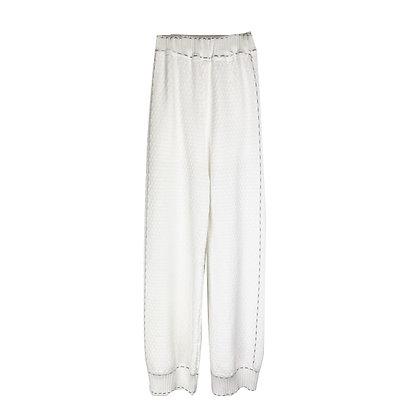 Pantalone Bianco Lungo