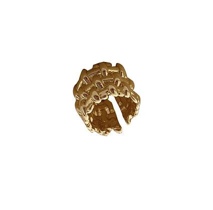Anello Intrecciato Oro