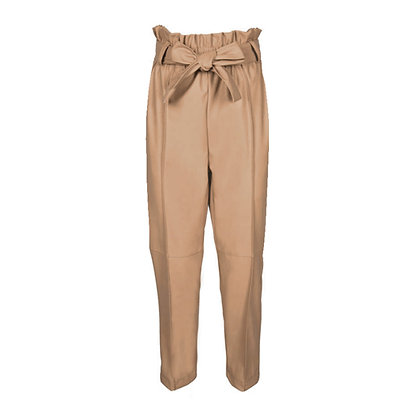 Pantalone Cammello in Ecopelle