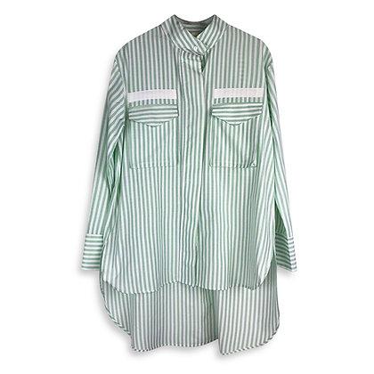 Camicia Riga Verde