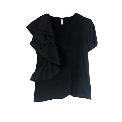 T-shirt Nera Rouge