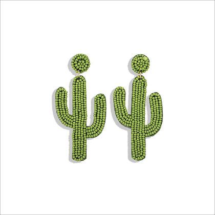 Orecchino Green Cactus