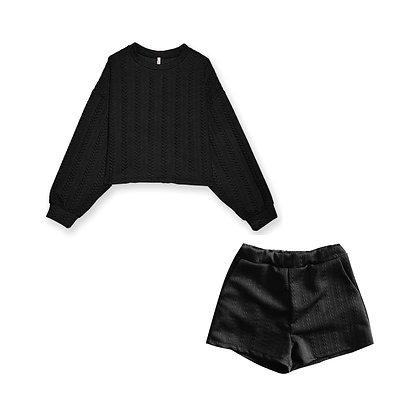 Coordinato Felpa e Shorts