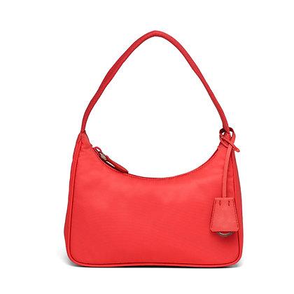 Mini Bag in Nylon Rossa