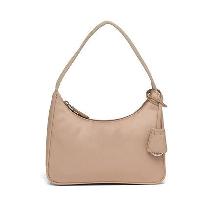 Mini Bag in Nylon Beige