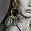 Thumbnail: Orecchino con Petali e Perle