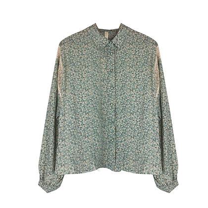Camicia Oversize a Fiori