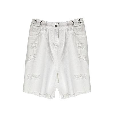 Bermuda Bianco Jeans