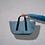 Thumbnail: Borsone Plissé Azzurro