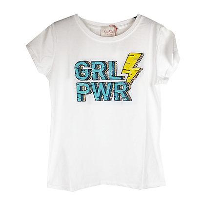 T-shirt Girl PWR
