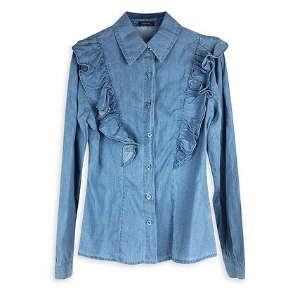 Camicia in Blu Jeans