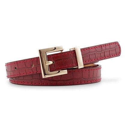 Cintura Rossa Coccodrillo