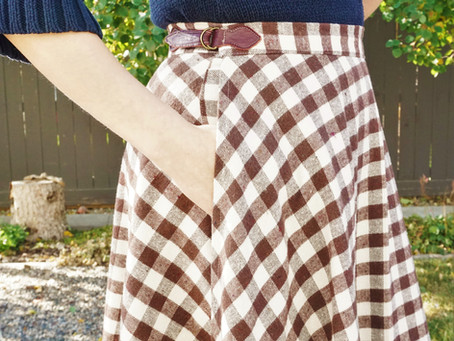 Side Buckle Pattern Hack for the Coquelicot Skirt