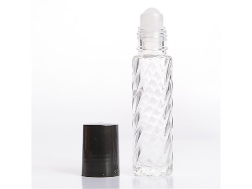 Choose Any Oils in  10ml Roll On Clear  Bottle