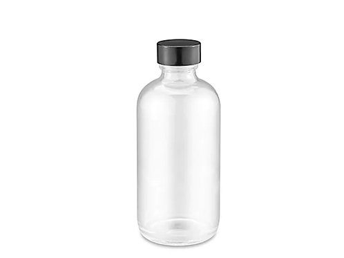 Choose Any Oils in  4 oz Clear Glass Bottle