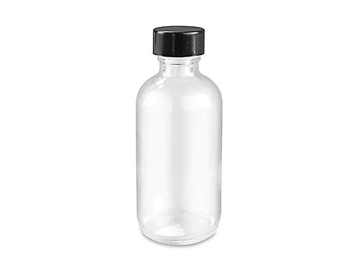 Choose Any Oils in  2 oz Clear Glass Bottle
