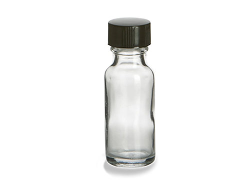 Choose any Oil in  1/2 Oz Clear Glass bottle