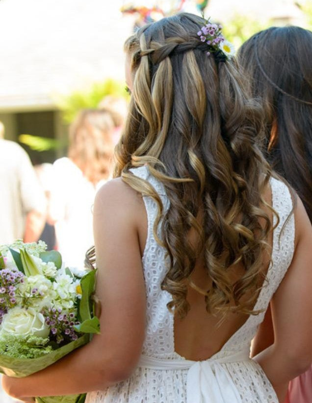 Waterfall Braid For Graduation