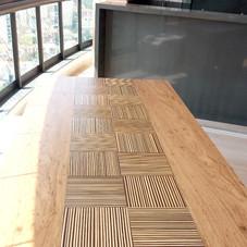 Mesa em bambu