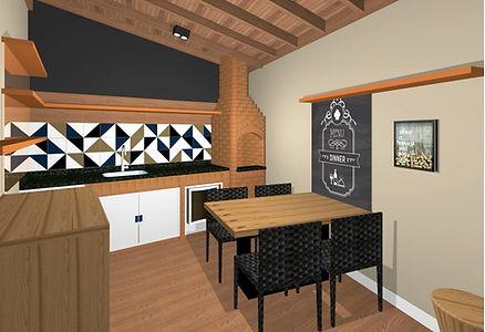 Layout e conceito de design. Desenhos em 3d. Visualização do amiente. Especificação de móveis, amostra de materiais, acabamentos propostos. Vida ao espaço.
