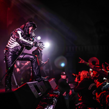 """The 69 Eyes """"Hell Has No Mercy"""" Tour Part 2 - Concert Photography"""