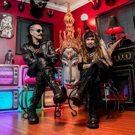 AP Magazine Feature with Al Jourgensen (Ministry) & Alexis Mincolla (3TEETH)