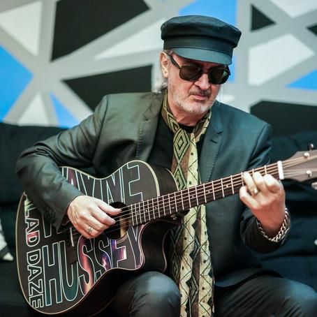 Wayne Hussey Schecter Guitars Session