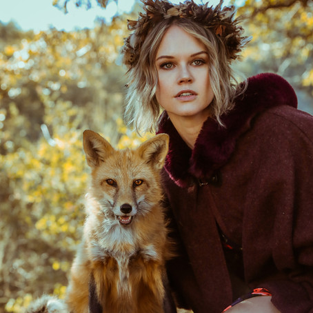 Ophelia Fox Session