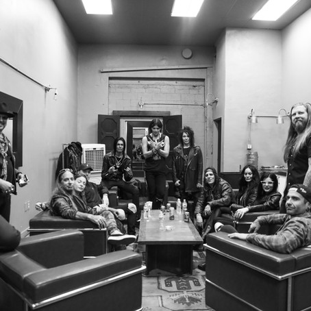 The 69 Eyes Tour 2019 Session - Backstage