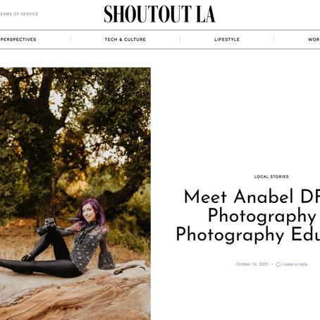 Shoutout LA Interview with Anabel DFlux
