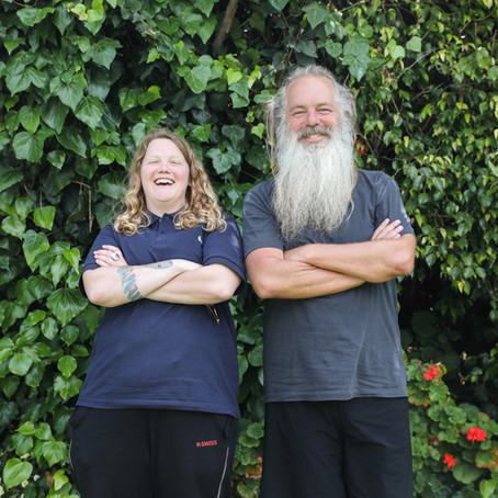 The Big Issue Shoot with Rick Rubin & Kate Tempest
