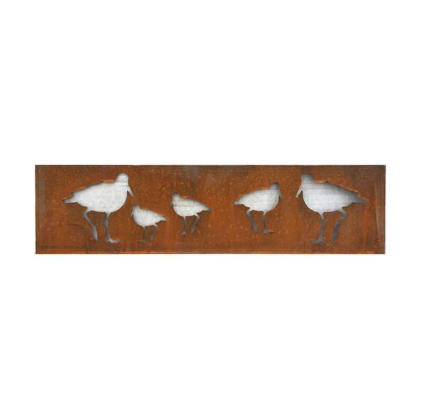 Oystercatcher Panel - birds cut out