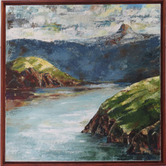 I am a self taught artist and love painting in oils for their colour and vibrancy which enhances the land and seascape paintings of the coromandel which I enjoy painting and where I have lived for the past six years.