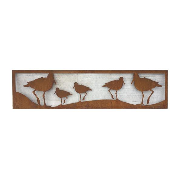Oystercatcher panel - Birds cut around.