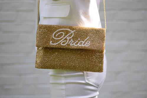 """""""Bride"""" Beaded Bag"""