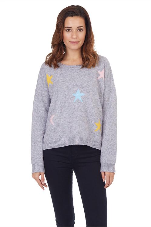 Star Sweater Heather Grey