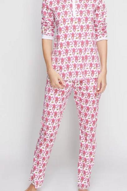 Pink Monkey Pajamas