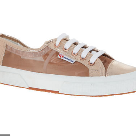 Rose Gold Mesh Superga