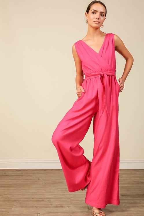 Peony Pink Jumpsuit