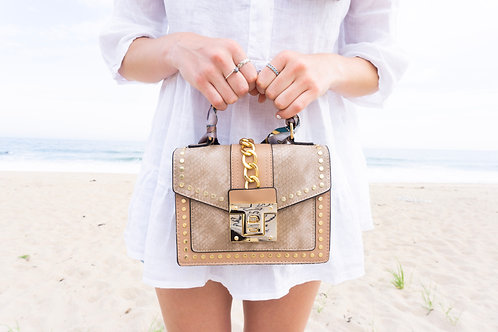The Alexis Bag Taupe
