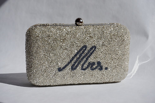 """Mrs."" Box Clutch"