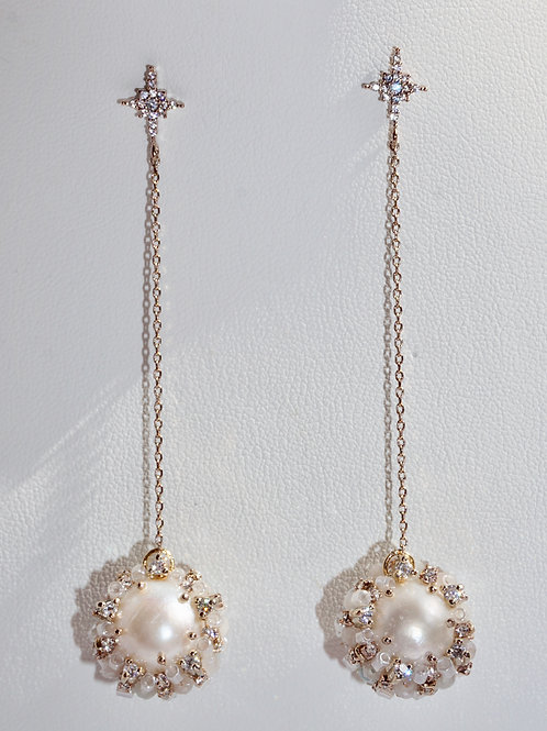 Fiona Long Drop Earrings
