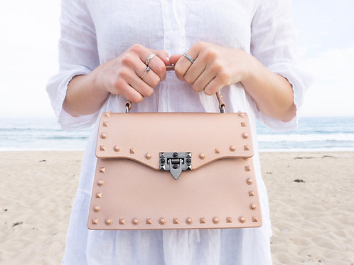 The Maya Rose Gold Large Bag