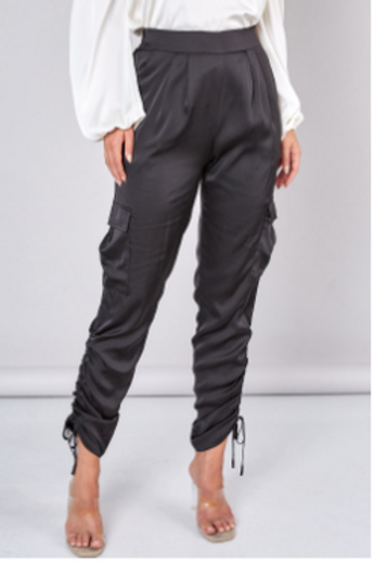 Ruched Detail Pants