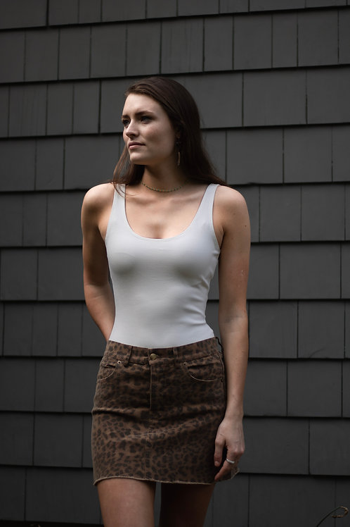 Cheetah Miniskirt