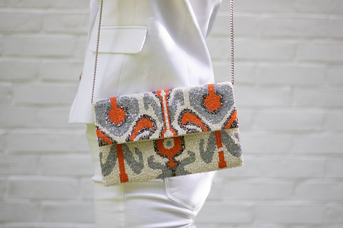 Orangina Beaded Bag