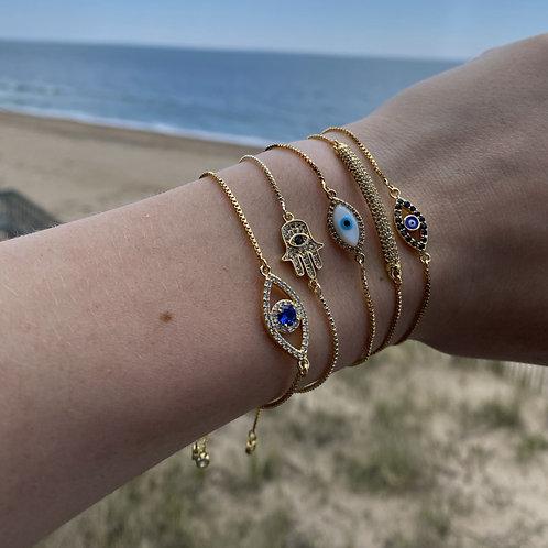 Gold Adjustable Bracelets