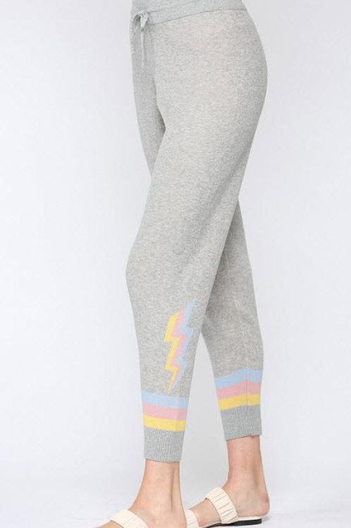 Lightning Bolt Knit Pants